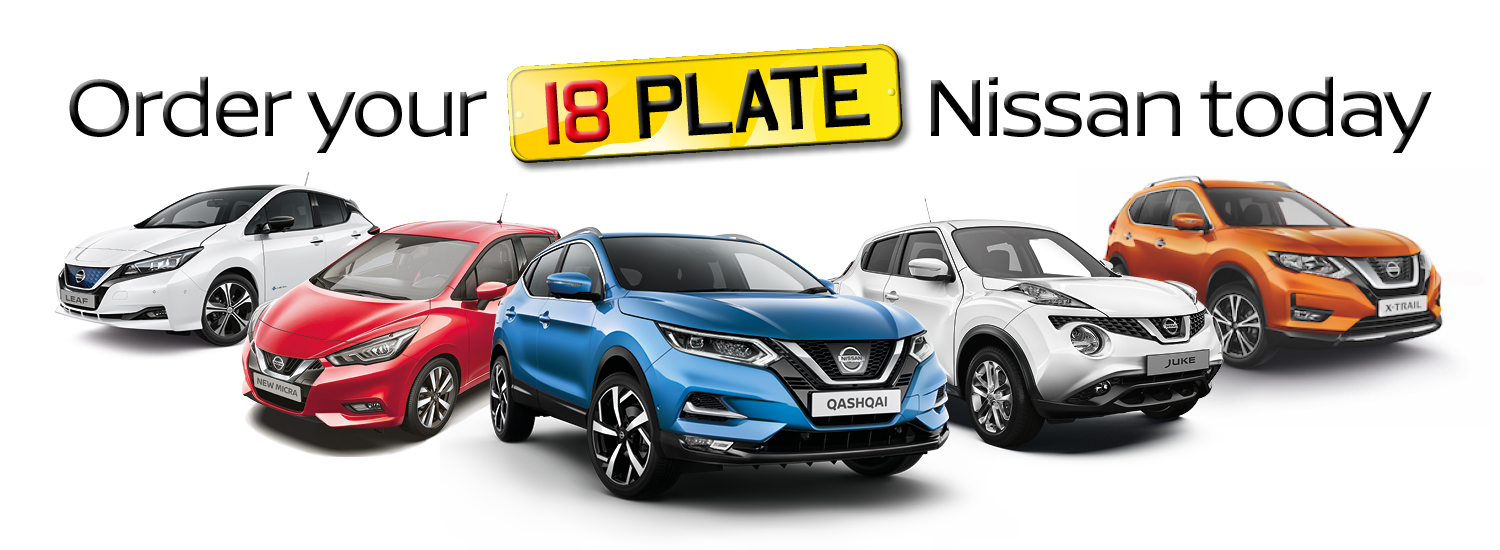 Nissan 18 Plate