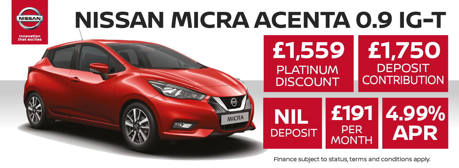 Nissan Micra Offer