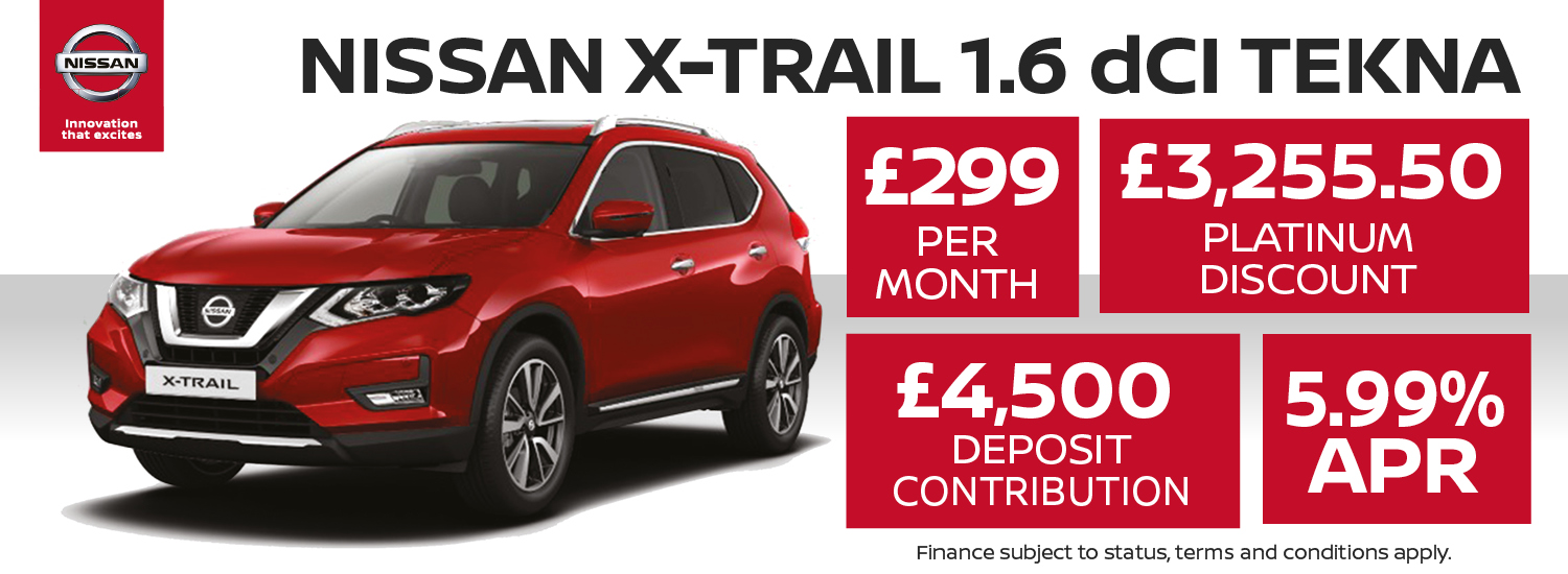 Nissan X-trail Offer