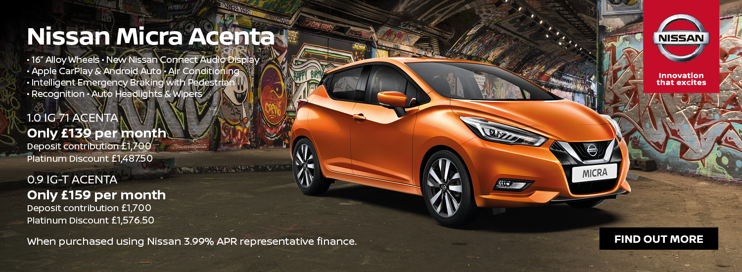 Exclusive Micra Offer