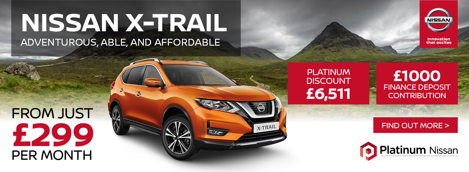 Exclusive X-Trail Offer