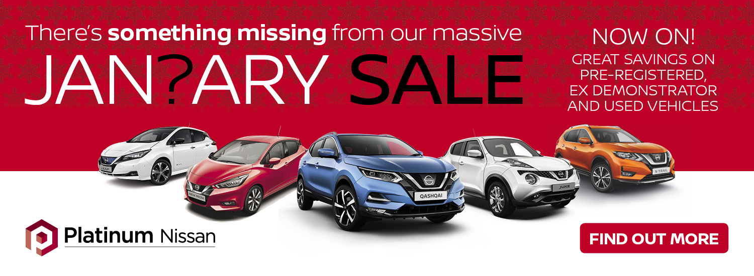 Nissan January Sale
