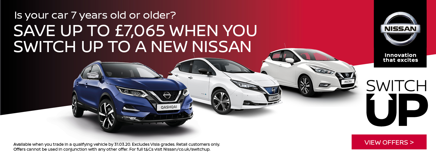 Nissan Switch Up offer