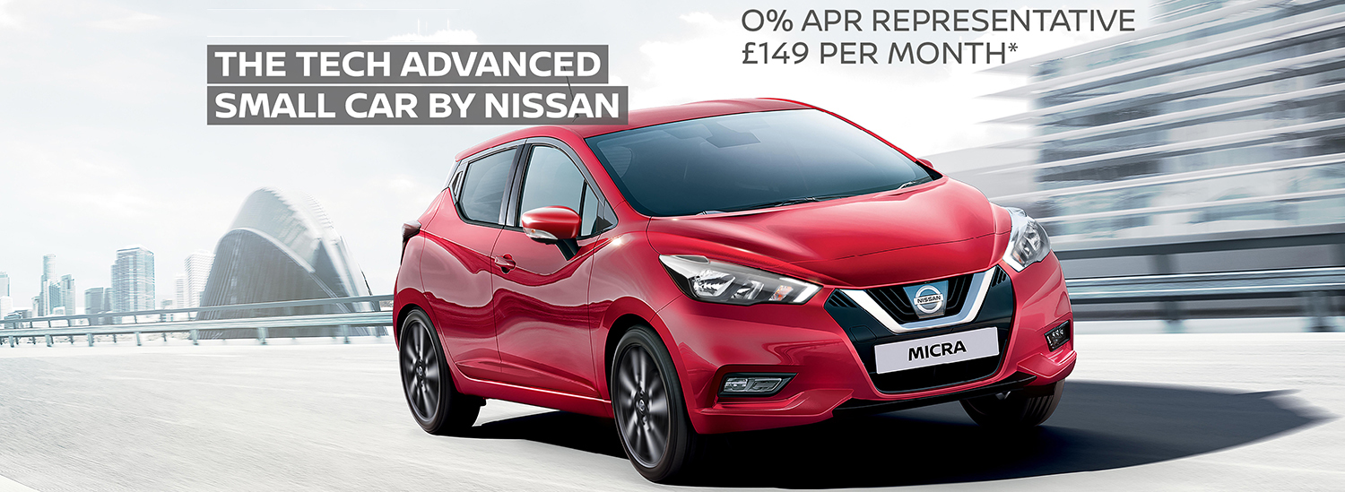 Nissan New Micra Offer